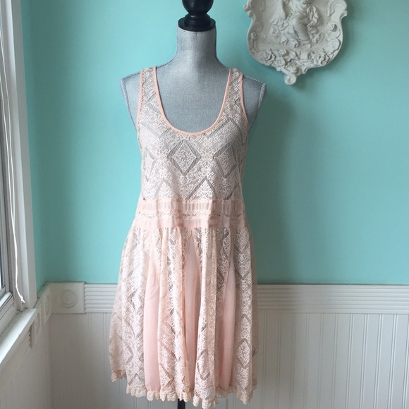 Anthropologie Dresses & Skirts - E by Eloise Anthropologie lace dress top boho